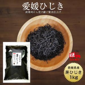 ひじき 送料無料 愛媛県産 芽ひじき 1kg 国産 乾燥 愛媛県産地から原料を買付け自社製造で仕上げた一品