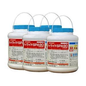 ハイライトSPA90 [顆粒剤] 10kg[2.5kg×4]お得なケース購入 【送料無料】浴槽水の水質管理に日産化学ハイライトスパシリーズ|kaiteki-club