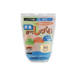 京庭かべしっくい [カラーNO.2 クリーム] 1.8kg×6袋|kaiteki-club