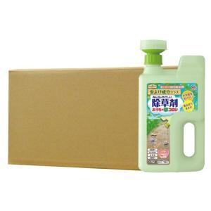アースガーデン おうちの草コロリ虫よけ成分プラス 1.8L×8本 [非農耕地用] アース製薬