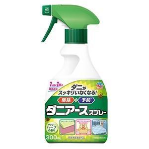 ダニ ノミ駆除 ダニアーススプレー ハーブの香り 300ml×10個 アース製薬 [防除用医薬部外品]|kaiteki-club