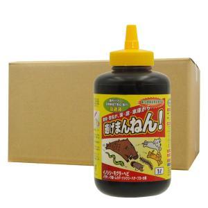害獣忌避剤 逃げまんねん!1L×12本 100%天然素材を使用した害虫・害獣忌避剤 【送料無料】|kaiteki-club
