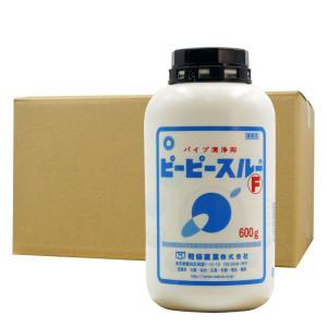 ピーピースルーF 600g[ポリ瓶入り]×12本 排水管洗浄剤 お得なケース購入♪|kaiteki-club
