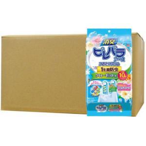 消臭ピレパラアース つけるだけスリム 1年間防虫 クローゼット用 柔軟剤の香りアロマソープ×12個セット|kaiteki-club