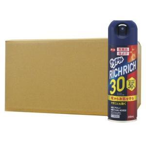 虫よけ サラテクト リッチリッチ30 200ml×20本 アース製薬 [第2類医薬品]|kaiteki-club