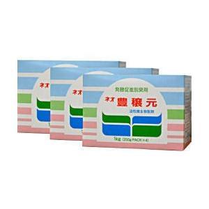 生ごみ処理容器[コンポスト用] ネオ豊穣元 1kg[250g×4袋パック入×20箱] ※お得なケース購入♪|kaiteki-club