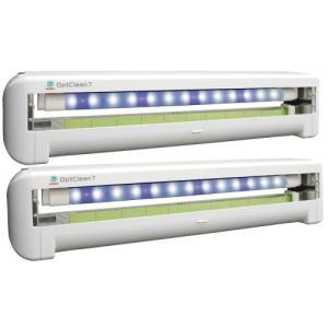 【商品名】LEDオプトクリン7 壁掛け式 2台 【サイズ】W721×D100×H156mm 【重 量...