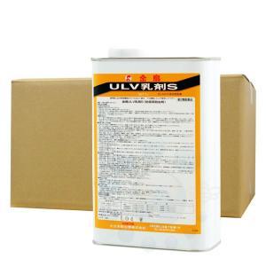 【お買得ケース購入】金鳥 ULV乳剤S(水性乳剤) 1L×10缶 防除用殺虫剤 [第2類医薬品]|kaiteki-club