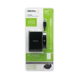 AC DEチャージ0.8A microUSB ブラック [TA10SK]|kaiteki-club