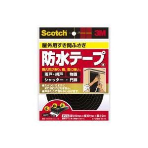 住友スリーエム スコッチ すき間ふさぎ防水ソフトテープ 黒 EN-76 5mm×10mm×2M|kaiteki-club