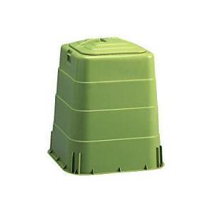 生ごみ処理容器[コンポスト容器] ミニわんだーBOX 130L 岐阜プラスチック工業[代引き返品不可品]|kaiteki-club