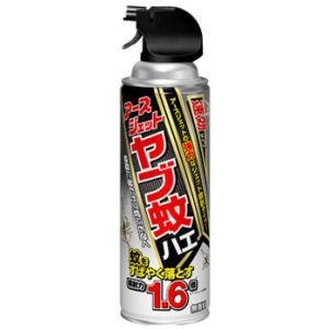 【商品名】アースジェット ヤブ蚊ハエ 【内容量】450ml缶 【有効成分】d-T80-フタルスリン0...