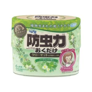 ピレパラアース 防虫力おくだけ消臭プラス ハーブミントの香り 300ml アース製薬|kaiteki-club