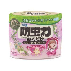 ピレパラアース 防虫力おくだけ消臭プラス 柔軟剤の香りフローラルソープ 300ml アース製薬|kaiteki-club