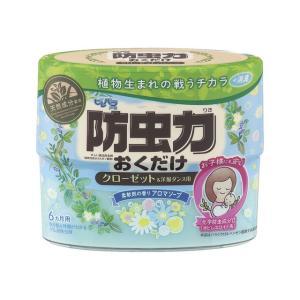 ピレパラアース 防虫力おくだけ消臭プラス 柔軟剤の香りアロマソープ 300ml アース製薬|kaiteki-club