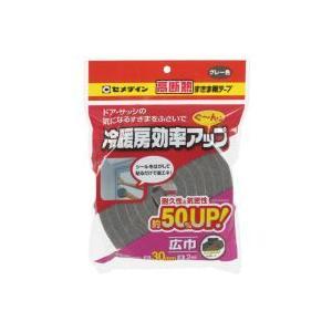 セメダイン 高断熱すきま用テープ グレー   30mm×2m [DIY・塗料・補修材・接着剤]|kaiteki-club