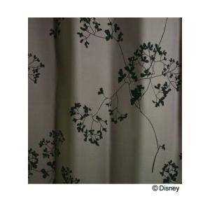 スミノエ Disney(ディズニー) MICKEY(ミッキー)/Twig leaf トウィッグリーフ [パープル] M1003 [幅100×丈135cm] カーテン 1枚入【返品・代引不可品】|kaiteki-club