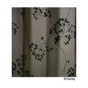 スミノエ Disney(ディズニー) MICKEY(ミッキー)/Twig leaf トウィッグリーフ [パープル] M1003 [幅100×丈200cm] カーテン 1枚入【返品・代引不可品】|kaiteki-club