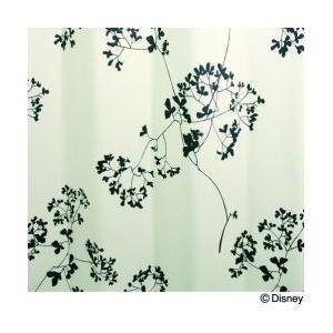 スミノエ Disney(ディズニー) MICKEY(ミッキー)/Twig leaf トウィッグリーフ [アイボリー] M1004 [幅100×丈135cm] カーテン 1枚入【返品・代引不可品】|kaiteki-club