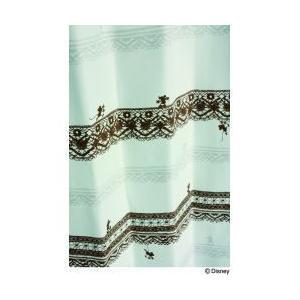 スミノエ Disney(ディズニー) MICKEY(ミッキー)/Trim way  トリムウェイ [アイボリー]M1007 [幅100×丈178cm] カーテン 1枚入【返品・代引不可品】|kaiteki-club