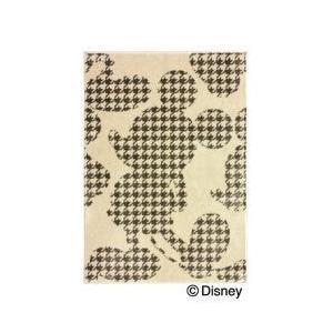 スミノエ Disney(ディズニー) MICKEY(ミッキー)/プルオーバーフォーム ラグ [ベージュ]DRM-1001 [100×140cm] 【返品・代引不可品】