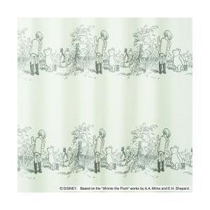 スミノエ Disney(ディズニー)POOH/Secret シークレット[ベージュ] M1103 [幅100×丈198cm]レースカーテン 1枚入【返品・代引不可品】|kaiteki-club