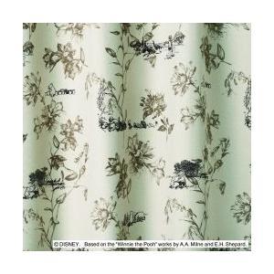 スミノエ Disney(ディズニー)POOH/Scene シーン [ベージュ] M1104 [幅100×丈135cm]カーテン 1枚入【返品・代引不可品】|kaiteki-club