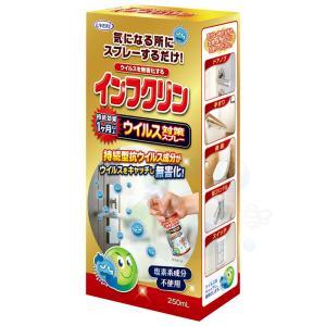 塩素系成分不使用のウイルス対策スプレー インフクリン 250ml|kaiteki-club