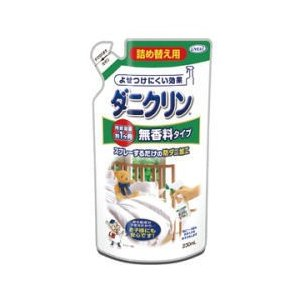 ダニ忌避 ダニクリン 無香料タイプ 詰め替え用 230ml UYEKI