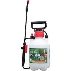 畜圧式殺虫・消毒スプレー 3L 軽くてコンパクト!殺虫剤・農薬の散布に最適な噴霧器|kaiteki-club