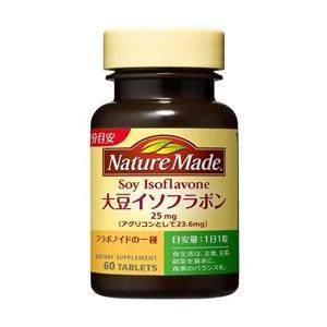 ネイチャーメイド 大豆イソフラボン 60粒(60日分) 大塚製薬[エストロゲン 女性ホルモン サプリメント]