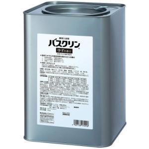 ツムラ薬用入浴剤 業務用バスクリン ゆずの香り 10kg缶入 ライトグリーン 医薬部外品|kaiteki-club