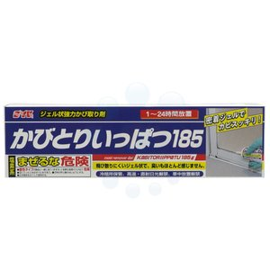 かびとりいっぱつ185 185g ジェルタイプでかびを強力に除去!【バス・洗剤・黒カビ・結露・シリコン防カビ】|kaiteki-club