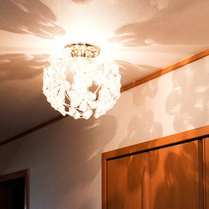 シーリングライト LED対応 お姫様 姫系 照明器具 おしゃれ 北欧 北欧風 ミッドセンチュリー カフェ インテリア 家具|kaiteki-homes