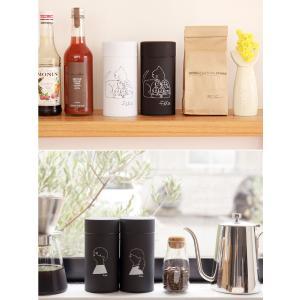 送料無料 コーヒー缶 fika フィーカ ペアセット キャニスター 収納 コーヒー缶 珈琲缶 セット 茶筒 保存容器 コーヒー 紅茶 お茶 キッチン 雑貨 北欧 kaiteki-homes 04