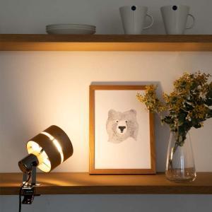 クリップライト LED対応 1灯 レダクリップ LEDA CLIP おしゃれ 間接照明 フロアスポットライト|kaiteki-homes