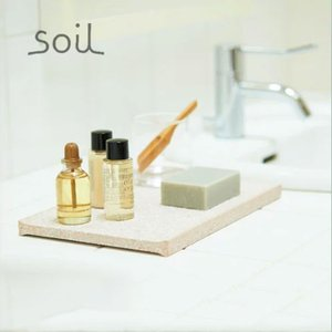 soil アメニティトレー AMENITY TRAY アメニティトレイ ソイル 珪藻土 自然素材 ナチュラル 北欧 テイスト おしゃれ