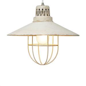 ペンダントライト 1灯 ラストアイアンランプ シェードD 間接照明 天井照明 インテリア照明 和室 和風 led電球 アンティーク