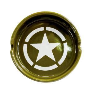 ラウンド アシュトレイ(灰皿) ARMY AR-1457-2 kaitekibituuhan