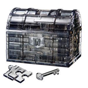 クリスタルパズル 52ピース トレジャーボックス・ブラック 50137 kaitekibituuhan