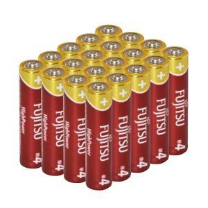 富士通アルカリ乾電池 20本お買い得パック 単4形 1.5V LR03FH20P kaitekibituuhan
