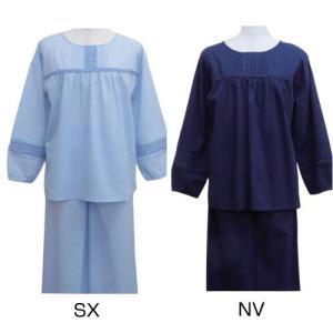 刺繍使いルームウェア(長袖) P40815|kaitekibituuhan