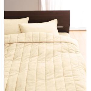 タオル地 タオルケット と 敷きパッド一体型ボックスシーツ のセット セミダブル 色-アイボリー /...