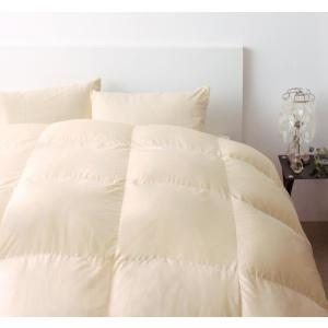 羽毛布団セット(プレミアムゴールドラベル) 和タイプ8点(硬綿入りボリューム敷布団タイプ) セミダブル 色-アイボリー kaitekibituuhan