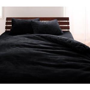 マイクロファイバー プレミアム ピローケース(枕カバー) の単品1枚 43x63cm 色-ジェットブ...