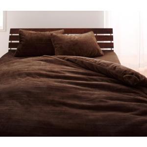 マイクロファイバー プレミアム ピローケース(枕カバー) の単品1枚 43x63cm 色-モカブラウ...