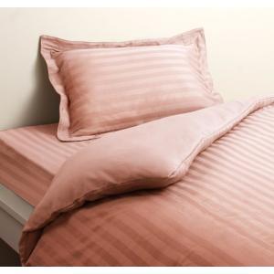 高級ホテルスタイル ベッド用 ボックスシーツ の単品(マットレス用カバー) セミダブル 色-ベビーピ...