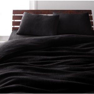 マイクロファイバー ベッド用 ボックスシーツ の単品(マットレス用カバー) シングル 色-サイレント...