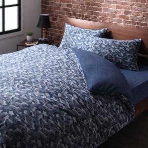 ベッド用 ボックスシーツ の単品(マットレス用カバー) シングル 色-無地ネイビー