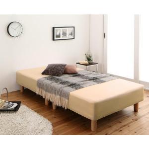 敷きパッド と ボックスシーツ2枚 のセット セミシングル ショート丈 色-ナチュラルベージュ